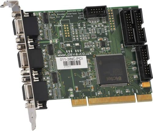 011-3INC-PCI 3 Axis PCI Incremental Encoder Interface