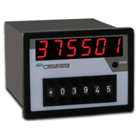 CA541 CAN-Bus Indicator & Preset Unit as Combination 200 x 200