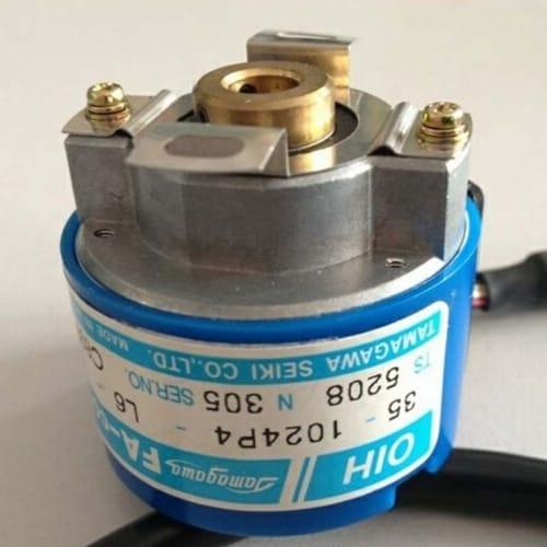 Tamagawa Seiki TS5208N305 Hollowshaft Encoder OIH48 Series