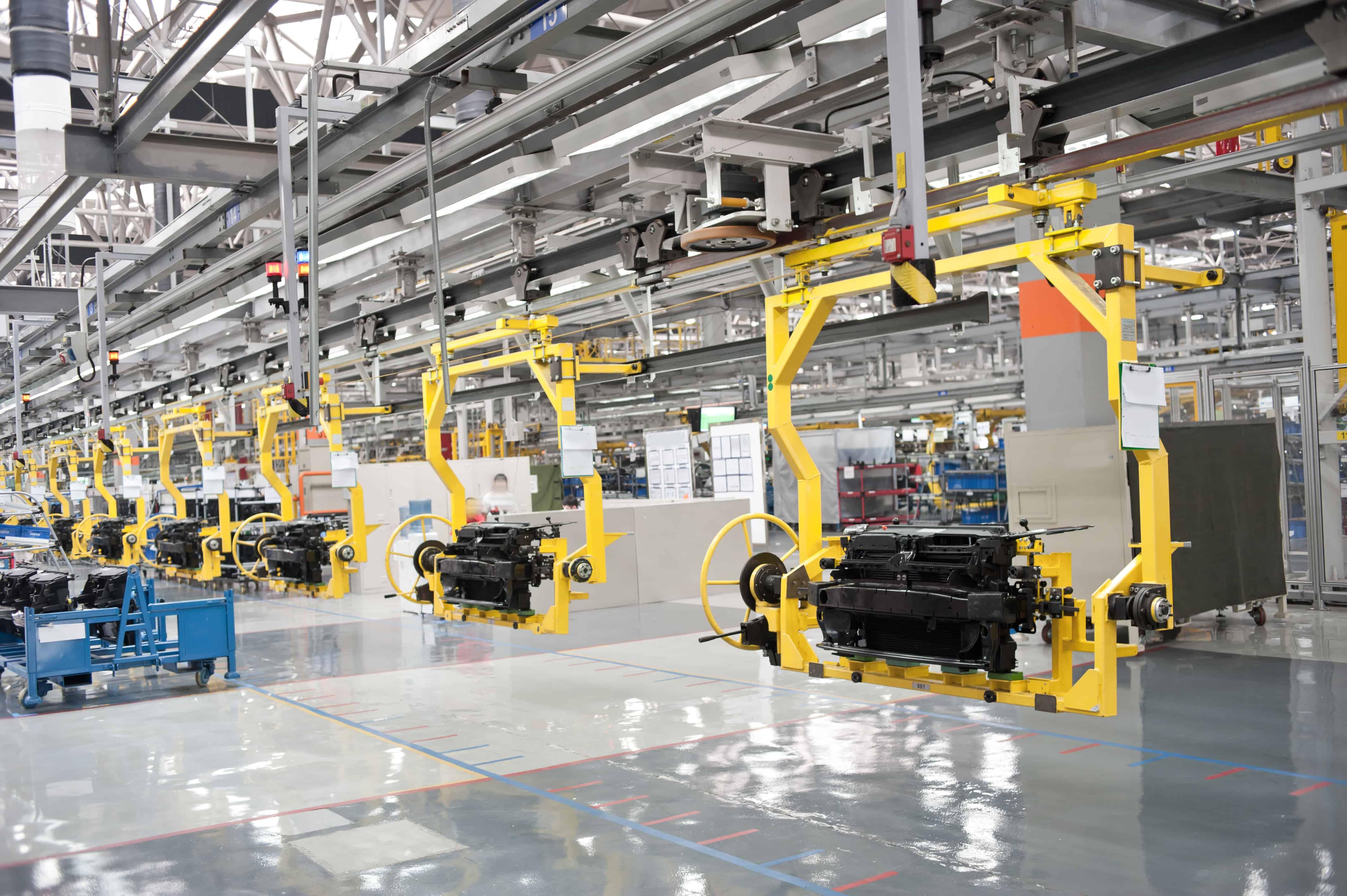 Modern car production line JIT encoder supplier Encoder Technology