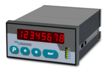 Motrona ZA330 Dual Differential Counter 8 digit with Analog Output